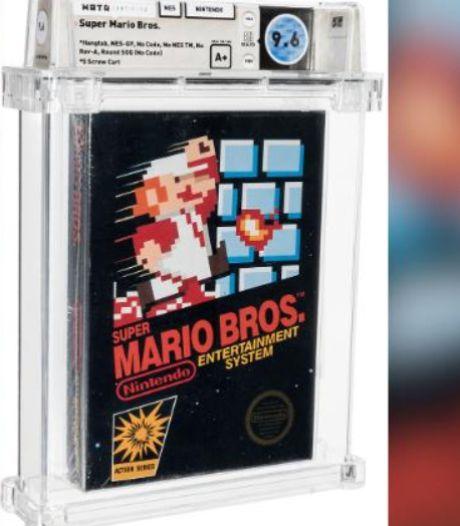 """Une histoire """"incroyable"""": un exemplaire de """"Super Mario Bros"""" devient le jeu vidéo le plus cher du monde"""