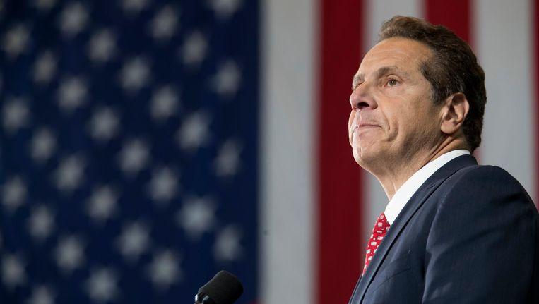 Andrew Cuomo, gouverneur van New York, verleent gratie aan een illegale immigrant die geholpen heeft na 9/11. Beeld ap
