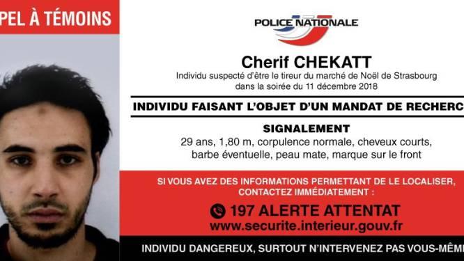 """Franse politie verspreidt oproep en foto van dader schietpartij: """"Hij is gevaarlijk, grijp vooral zelf niet in"""""""