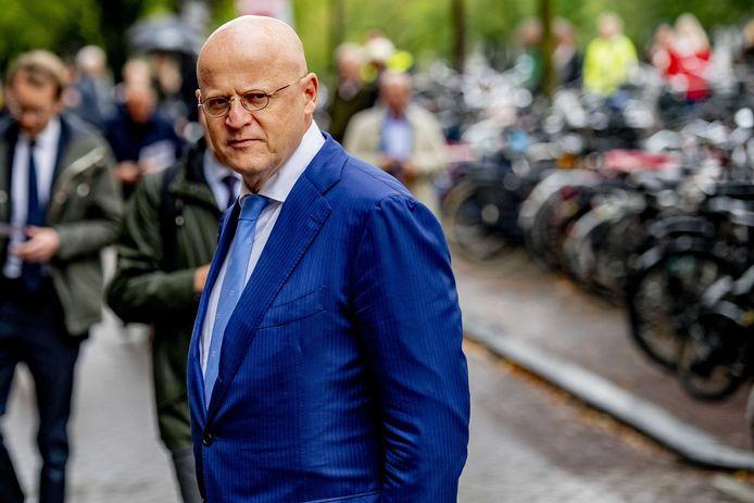 Minister Ferd Grapperhaus van Justitie en Veiligheid.