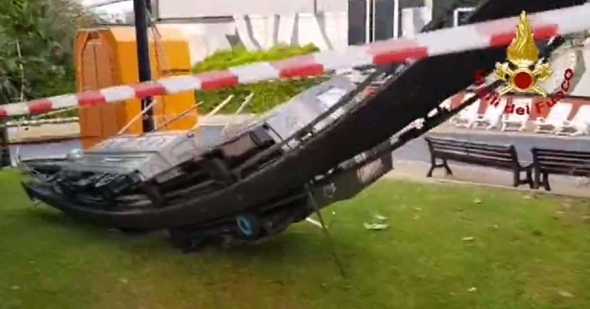 Gewonden door ongeval met treintje in Italiaans pretpark.