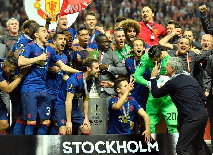 Manchester United won de Europa League in 2017 ten koste van Ajax.