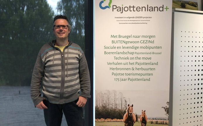 Robrecht Geeroms, coördinator van Pajottenland+.