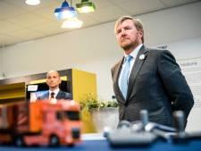 Koning Willem-Alexander bezoekt Nedschroef in Helmond en DAF in Eindhoven