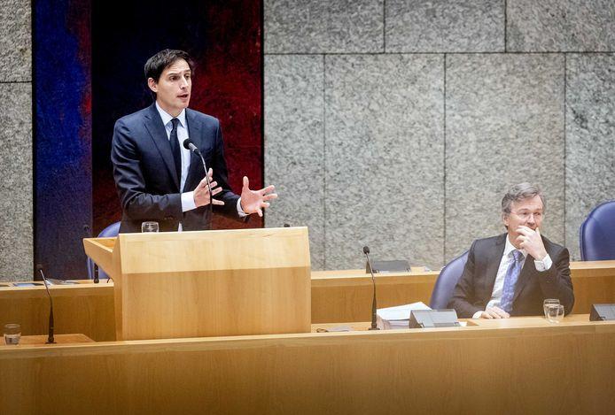 CDA-leider Wopke Hoekstra noemt het einde van de samenwerking 'begrijpelijk en verstandig'