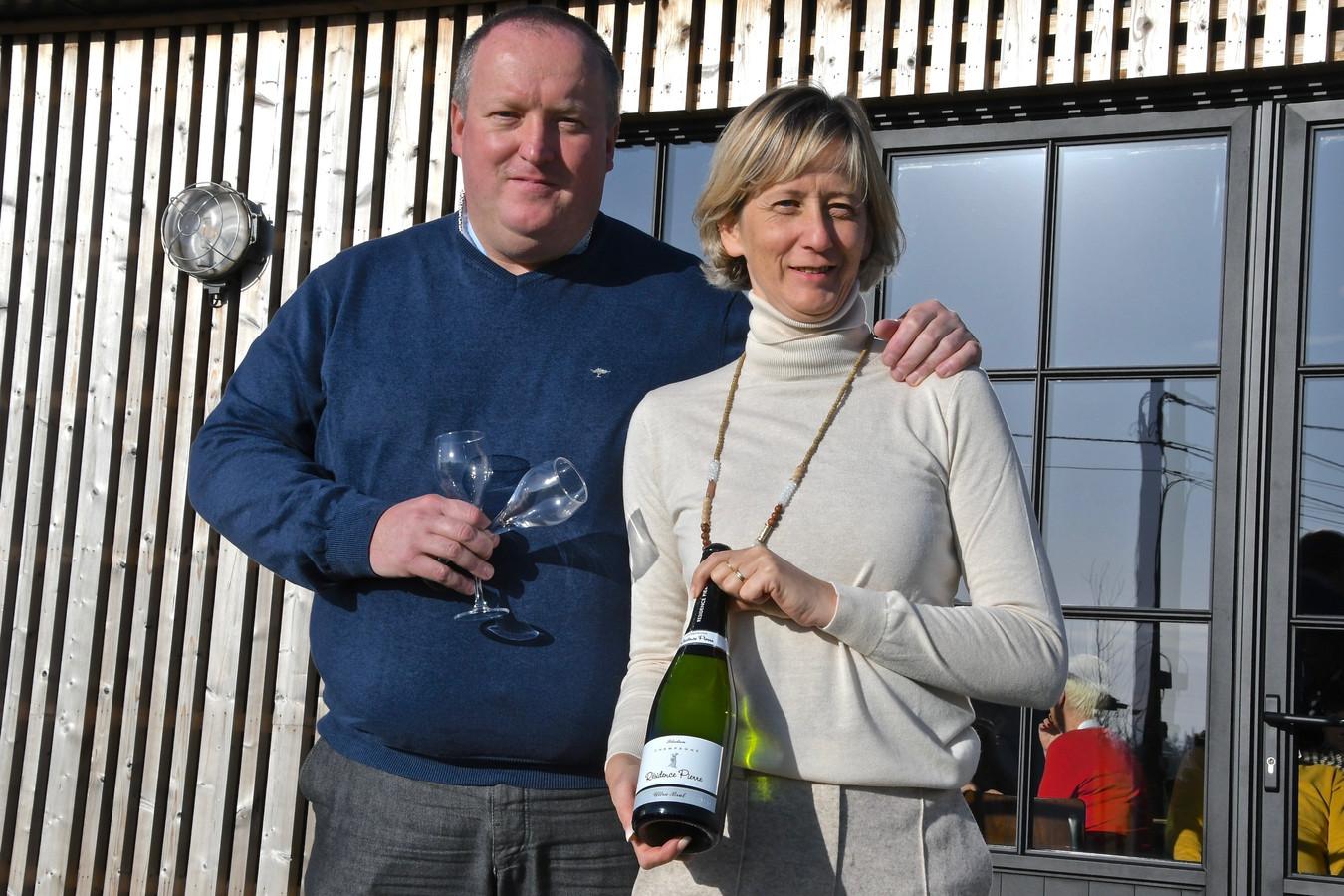 Peter Bruneel en Heidi Huys