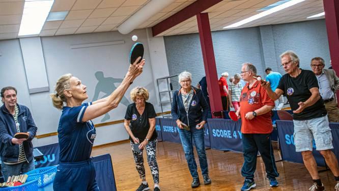 Potje pingpong brengt OldStars weer in evenwicht: 'Ik herken ik mezelf bijna niet meer, zo goed voel ik me'