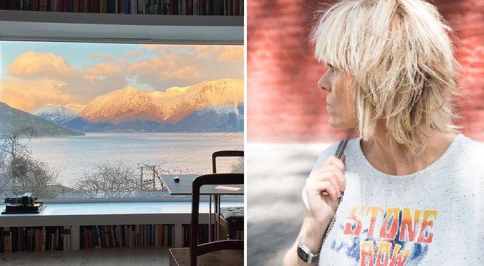 De Belgische Barbara Duriau, een grafisch ontwerpster uit Binche, richtte 'View from my window' op.