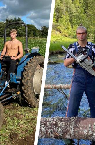 """""""Dit is wie ik mijn hele leven zal zijn"""": Erling Haaland, 's werelds meest begeerde spits die houdt van bomen zagen en met tractors rijden"""