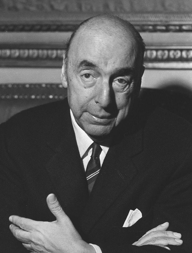 Pablo Neruda, twee jaar voor zijn dood. Beeld AFP