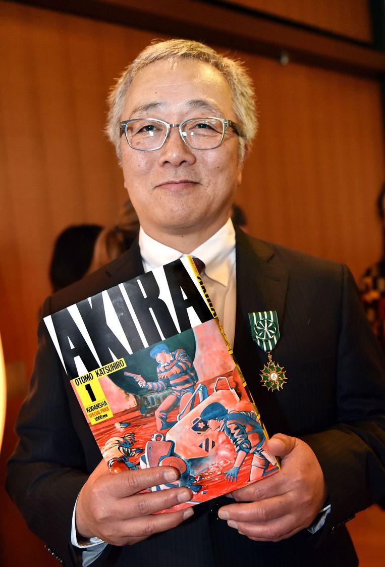 Katsuhiro Otomo (archieffoto). Beeld AFP