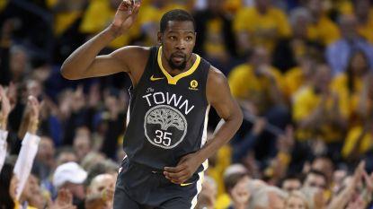 Warriors opnieuw voorbij Spurs in play-offs NBA