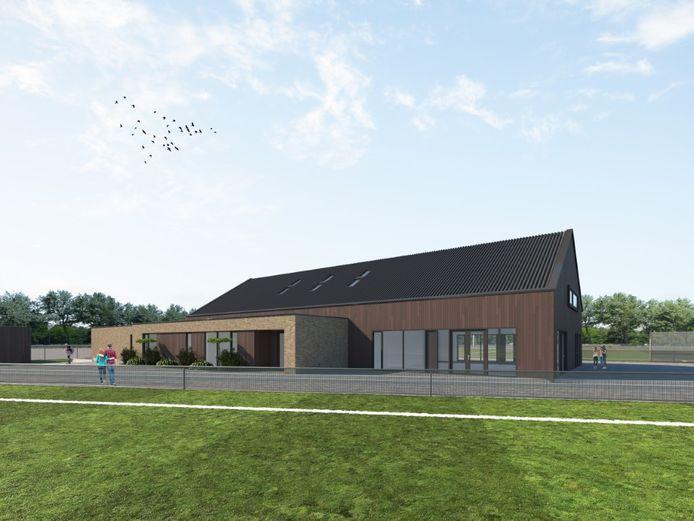 Een impressie van het nieuwe clubgebouw van HRC'14.