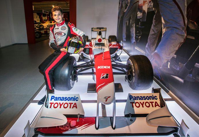 Daniel Ligier voordat hij vorig jaar naar Frankrijk ging.