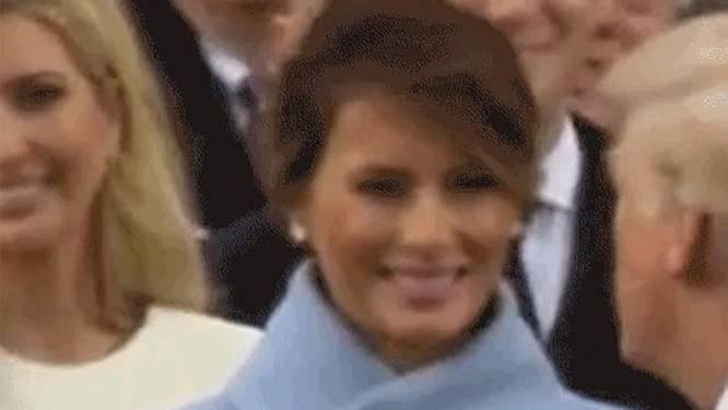 Is dit het echte verhaal achter de norse blik van Melania op de inauguratie?