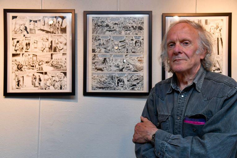Striptekenaar Sylvain Polfliet toont zijn werk in Galerij De Fontein.