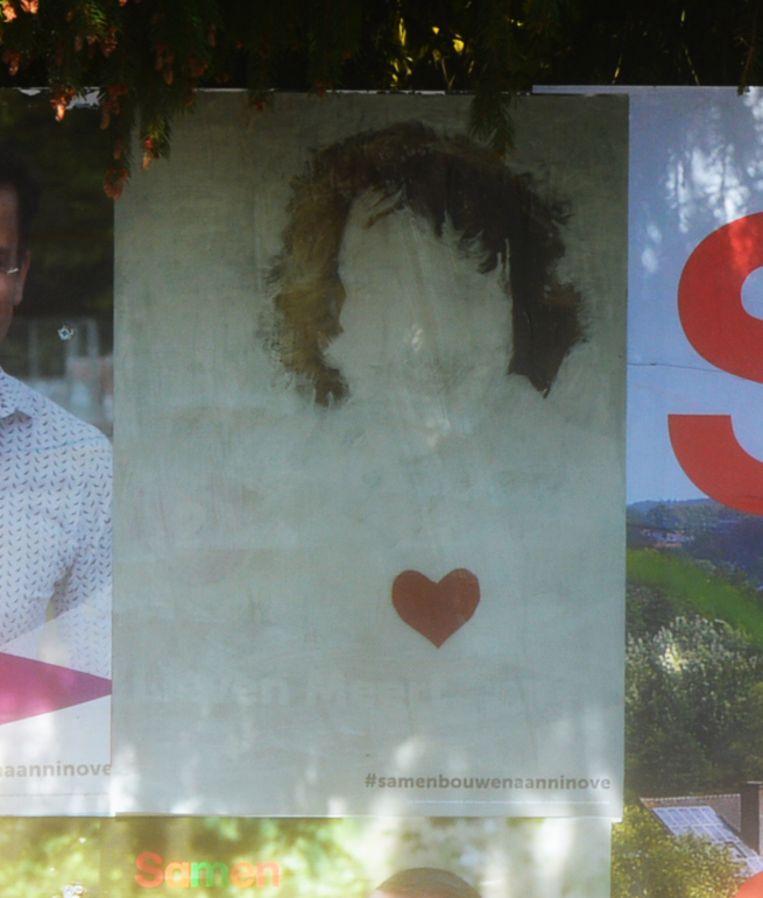 De nieuwe affiche van Lieven Meert is al te zien in het straatbeeld.