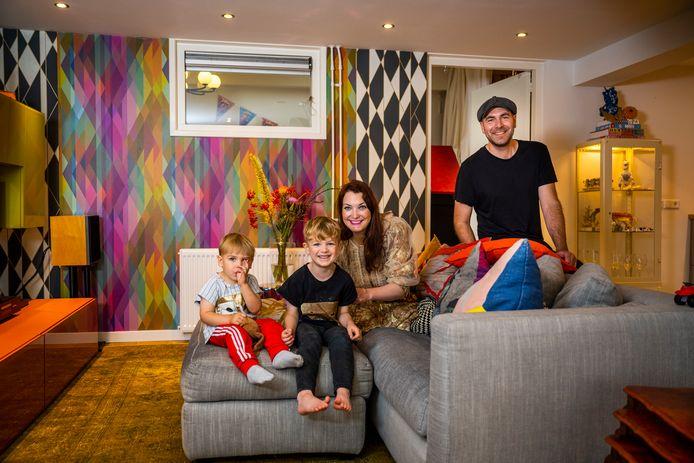Binnenkijken bij Faye Ellen en haar gezin in het Rotterdamse Oude Noorden.