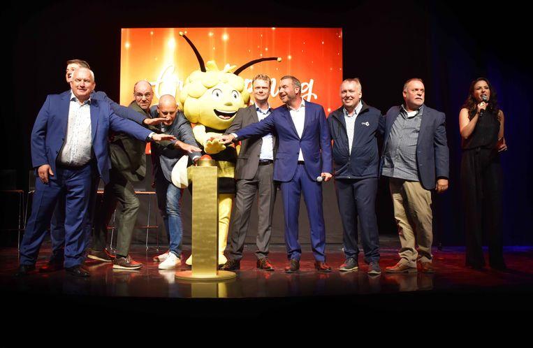 The Grand Opening van Majaland Kownaty met oa. Gert Verhulst en Hans Bourlon.