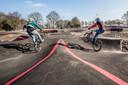 De maart dit jaar geopende pumptrackbaan in Roosendaal.