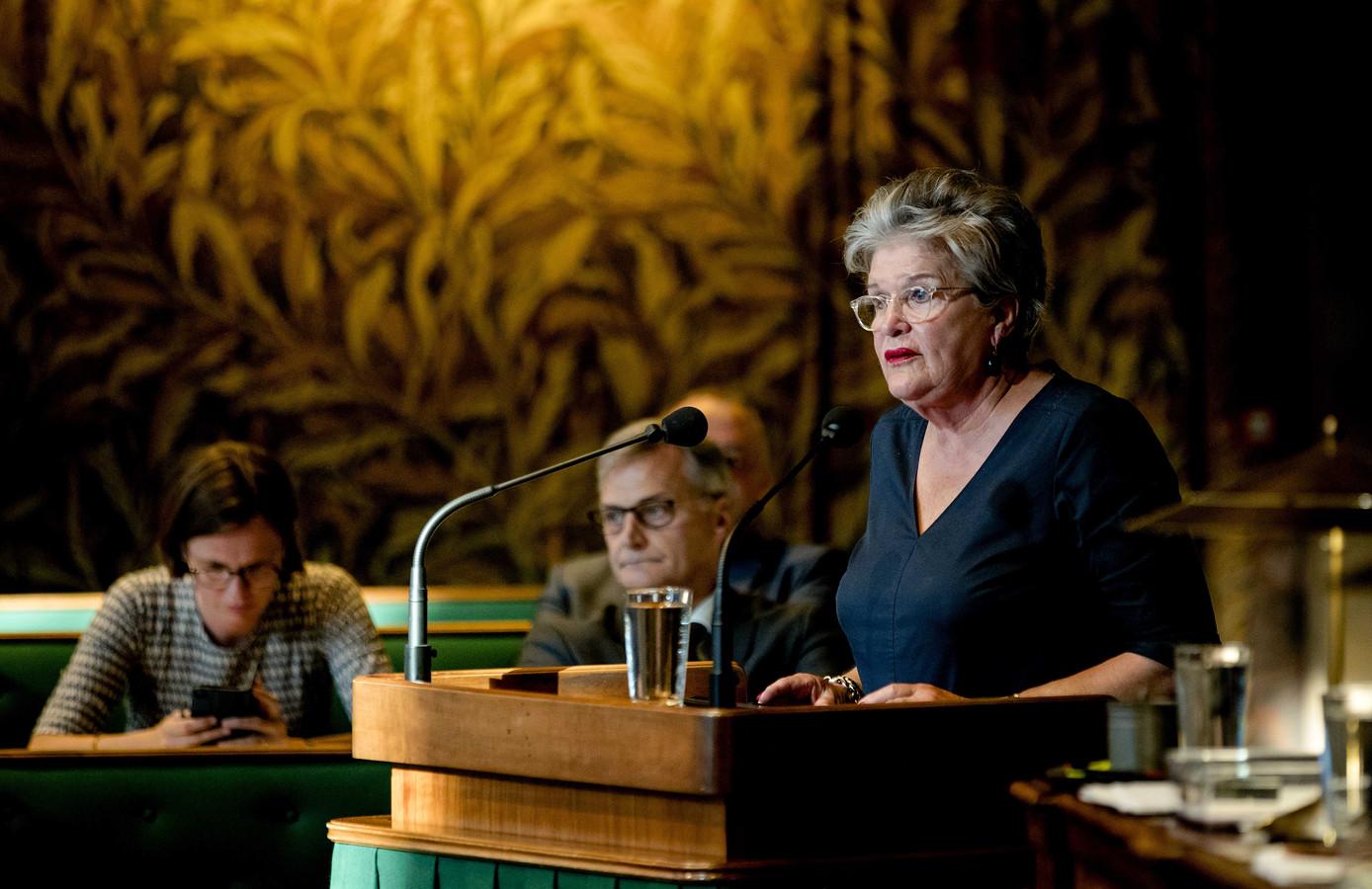 Helmi Huijbregts, informateur in Brabant, is ook lid van de Eerste Kamer.