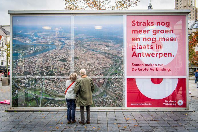 'De Grote Verbinding', de grootschalige campagne die burgers over de werken van Oosterweelverbinding informeert en sensibiliseert.