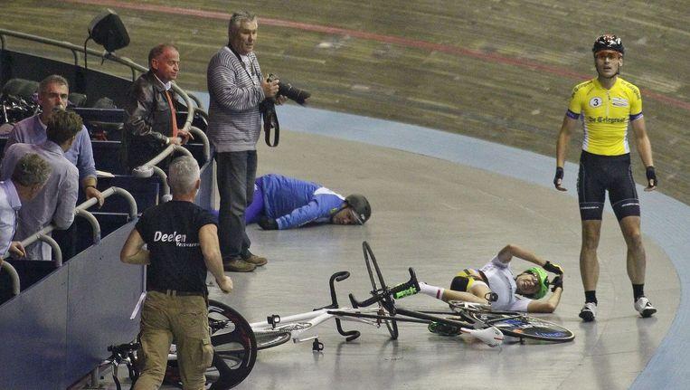 Een beeld van de vreselijke tuimelperte. Beeld PHOTO_NEWS