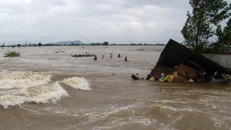 Overstromingen van de Mekong rivier Beeld reuters