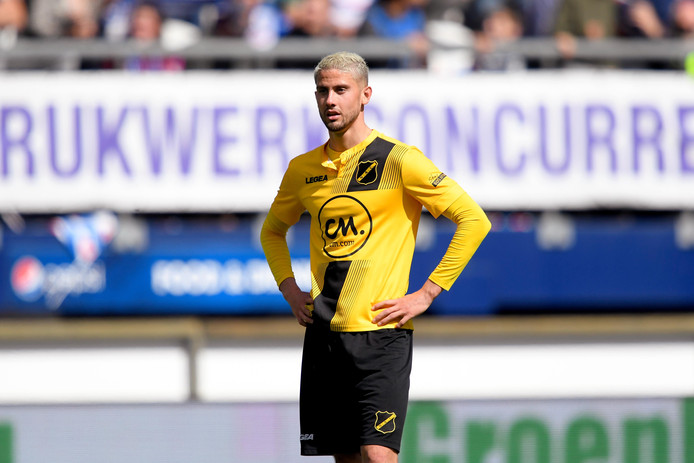 Ramon Pascal Lundqvist of Nac Breda during SC Heerenveen - NAC Breda NETHERLANDS, BELGIUM, LUXEMBURG ONLY COPYRIGHT BSR/SOCCRATES