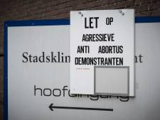Politiek in Utrecht wil snel actie tegen 'agressieve' demonstranten abortuskliniek