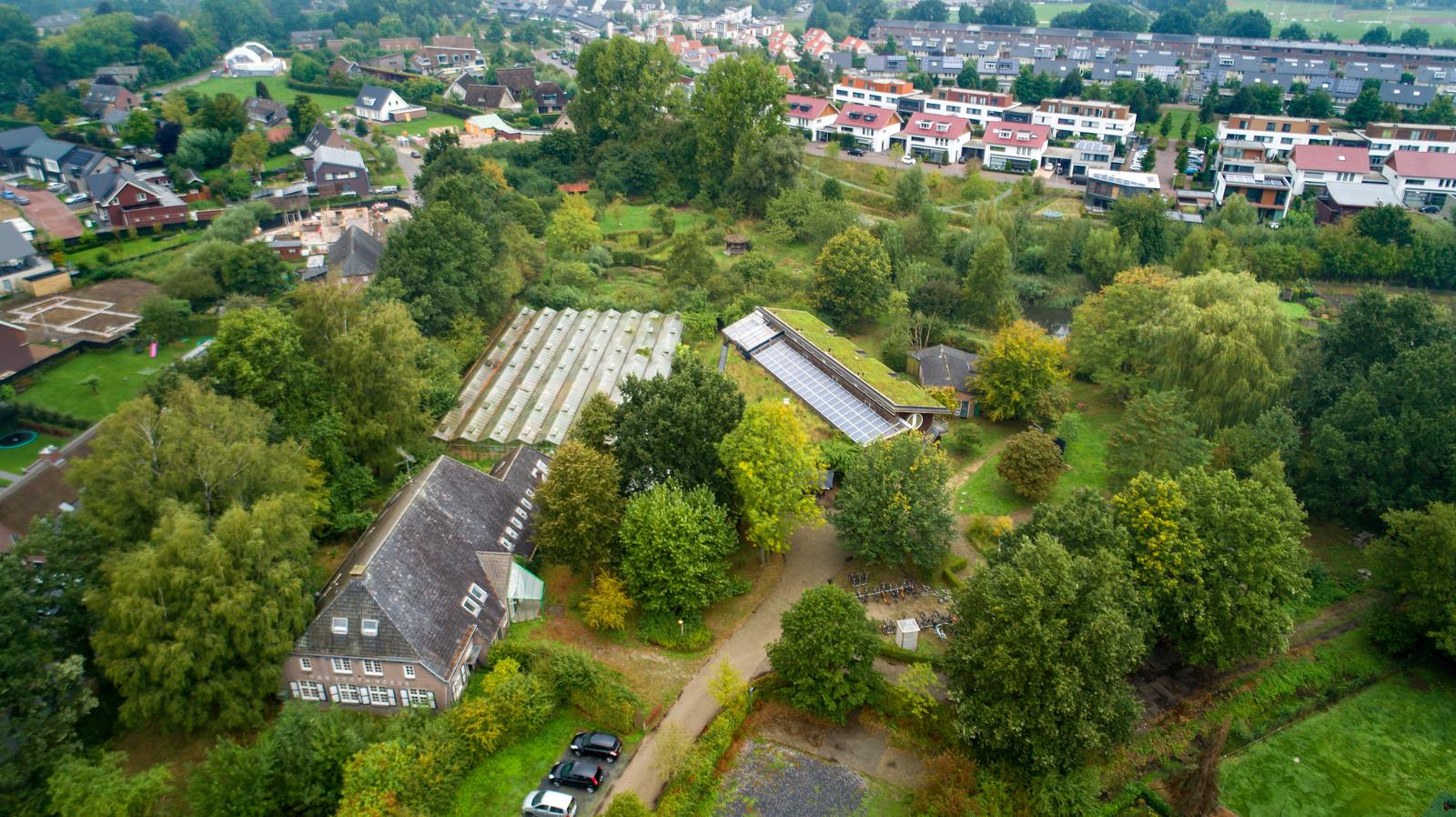 Boxtel kijkt onder meer naar het voormalige terrein van De Kleine Aarde als proeflocatie voor alternatieven woningen.