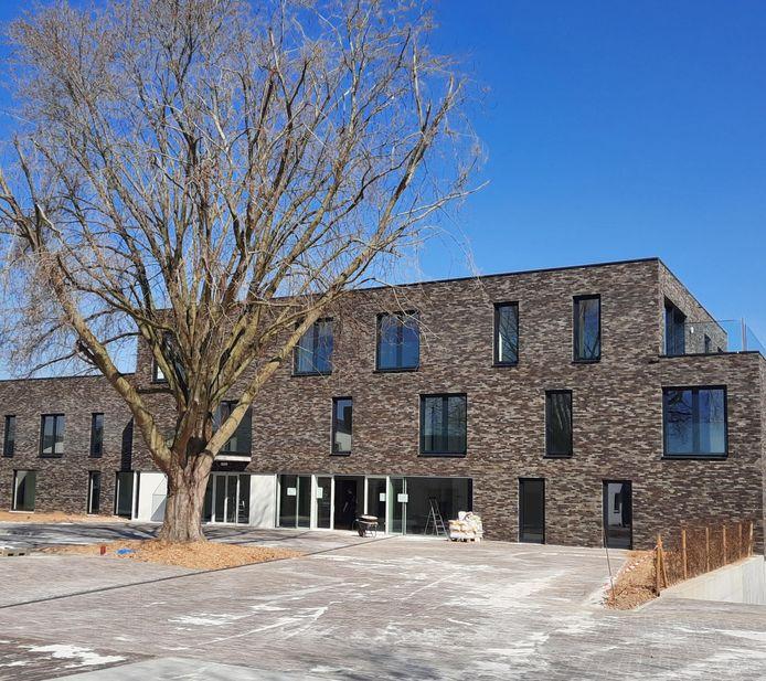 Assistentiewoningen 'Residentie Paloken' van Henri Vanderstokken zijn bijna afgewerkt.