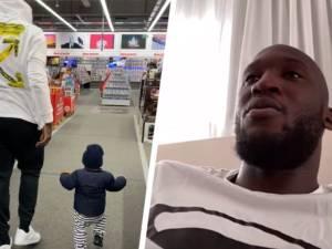 """Romelu Lukaku se confie sur la quarantaine: """"C'est dur, mon fils me manque"""""""