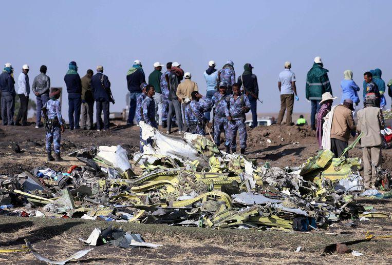 Bij de crash in Ethiopië kwamen 157 mensen om, begin deze maand.