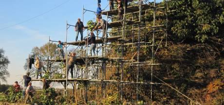 Handen uit de mouwen voor 'hoogste' paasvuur in Espelo