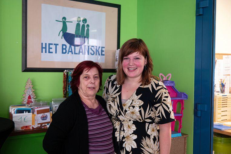 Vrijwilligster Rita Brughmans en coördinator Sophie Massy beseffen hoe onmisbaar vrijwilligers zijn.