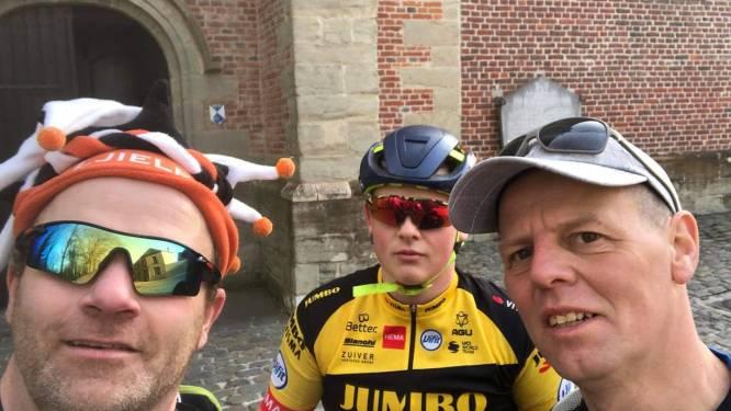 Serge en Steven stapten in totaal 61 kilometer om miniatuurcarnavalsstoet te steunen