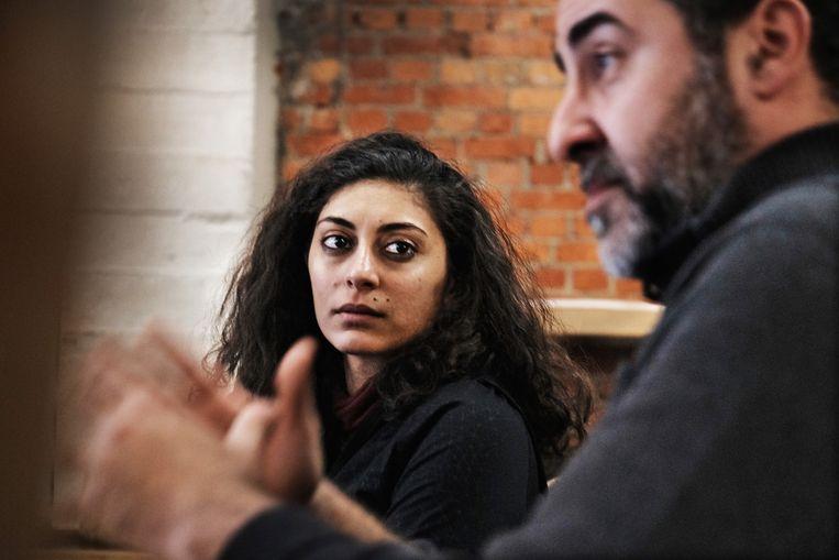 Petra Serhal (33) en Dyab Abou Jahjah (45).