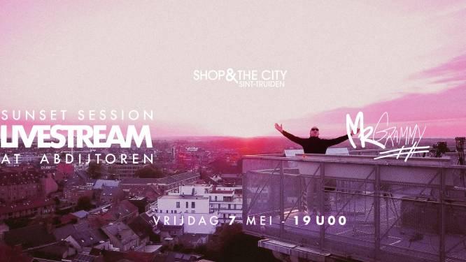 Shop & The City en Truiense DJ Mr Grammy vieren heropening van de terrassen met muzikale livestream
