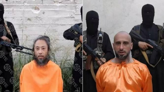 Jihadistische groep publiceert video met Japanse en Italiaanse gijzelaars in Syrië