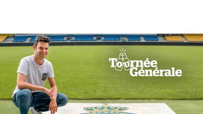 """Het eerste terras van Bart Foubert, op levensbelangrijke voetbaldag: """"Hopelijk feest op terrassen supporterscafés en met glimlach wakker worden onder de tribune van de Freethiel"""""""