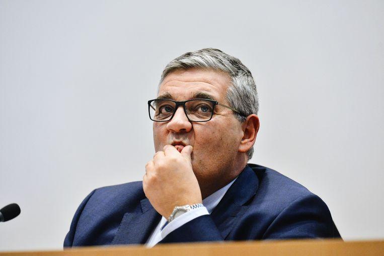 Minister van Defensie Steven Vandeput. Beeld ID/ Bart Dewaele