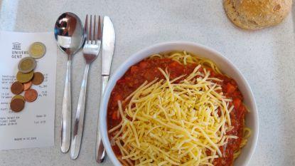 Recensie: spaghetti bolognese in studentenrestaurant Kantienberg
