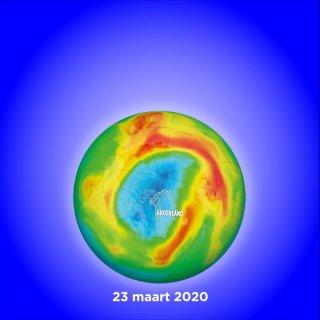 Hoe zit het met het gat in de ozonlaag?