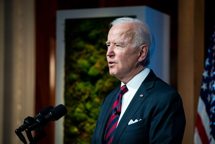 Amerikaans president Joe Biden