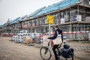 Woningbouw aan de Ketelkade, in de nieuwe wijk Goese Diep.