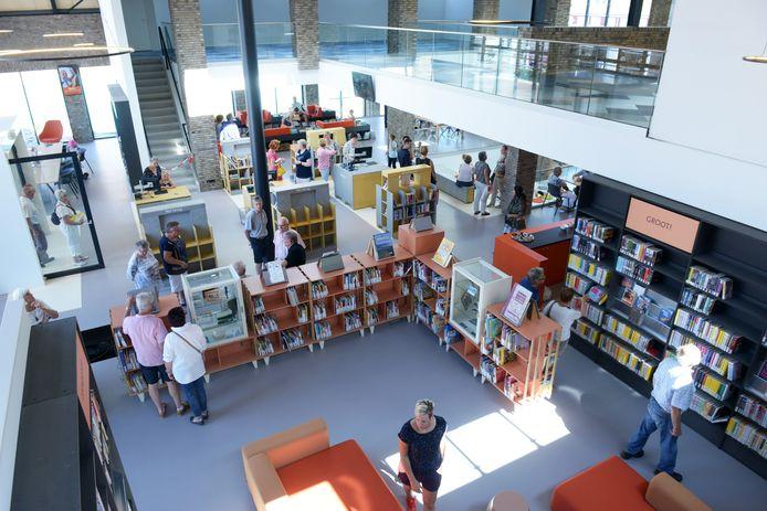Afgelopen zomer ging de nieuwe bibliotheek in Raamsdonksveer open.