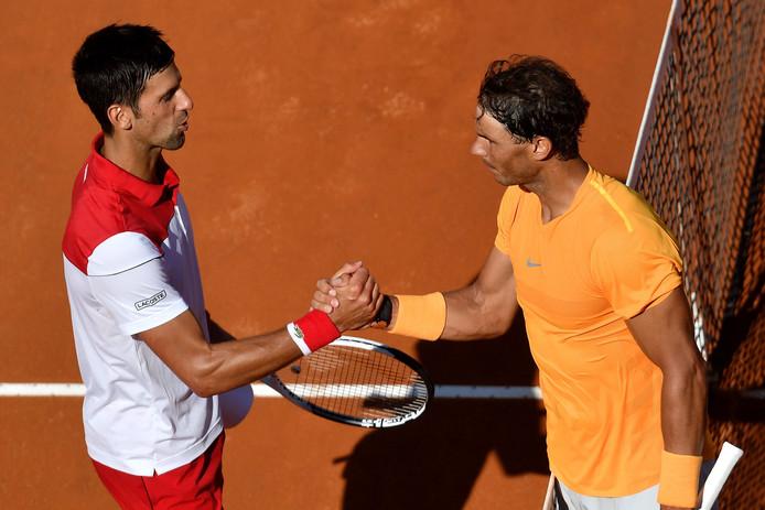 Nadal et Djokovic s'étaient affrontés et demi-finale du Masters 1000 de Rome en 2018, avec une victoire du Majorquin à la clé.