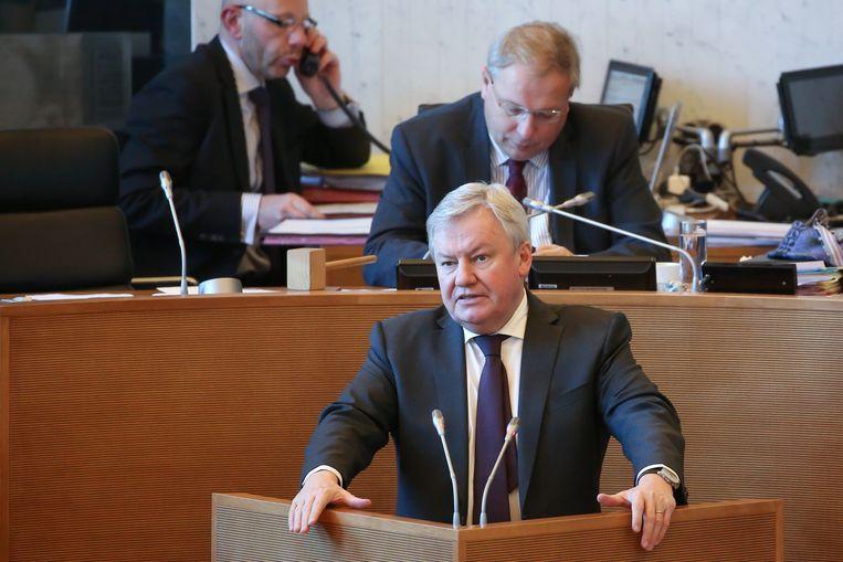 Jean-Claude Marcourt (PS), Waals minister van Economie.