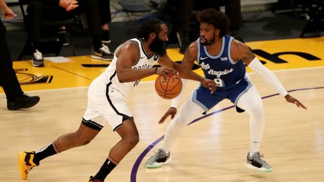 Brooklyn klopt Lakers in topper, Bucks blijven op de sukkel in NBA